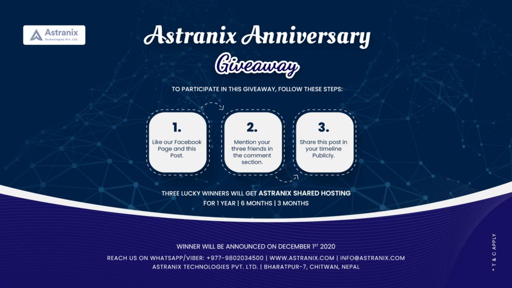 astranix giveaway